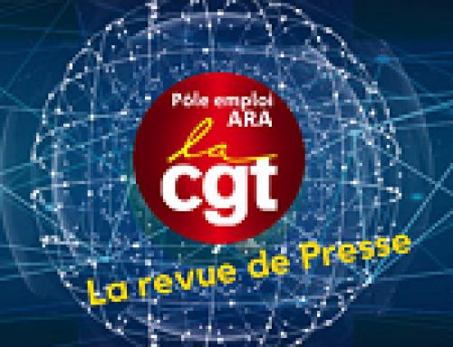 La Revue de Presse de la CGT ARA – 12 janvier 2021