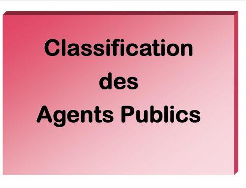 Classification des agent-es de Droit Public de Pôle emploi !
